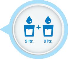 9 litre storage tank water filter