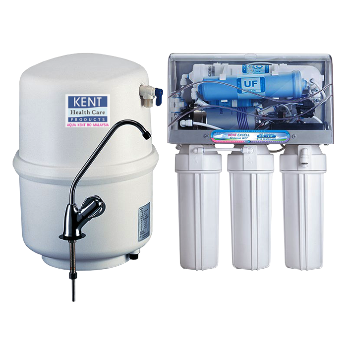 Kent Excell Under-The-Counter / Kitchen Sink RO +UV+ UF Water Filter And Purifier.