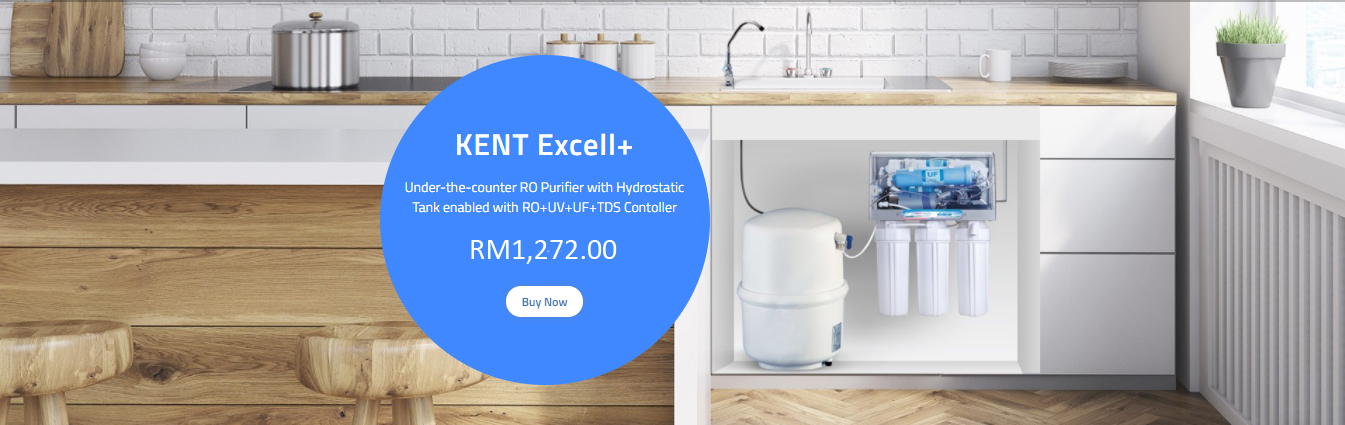Kent excell under counter mineral ro water purifier