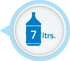 7 litre storage tank