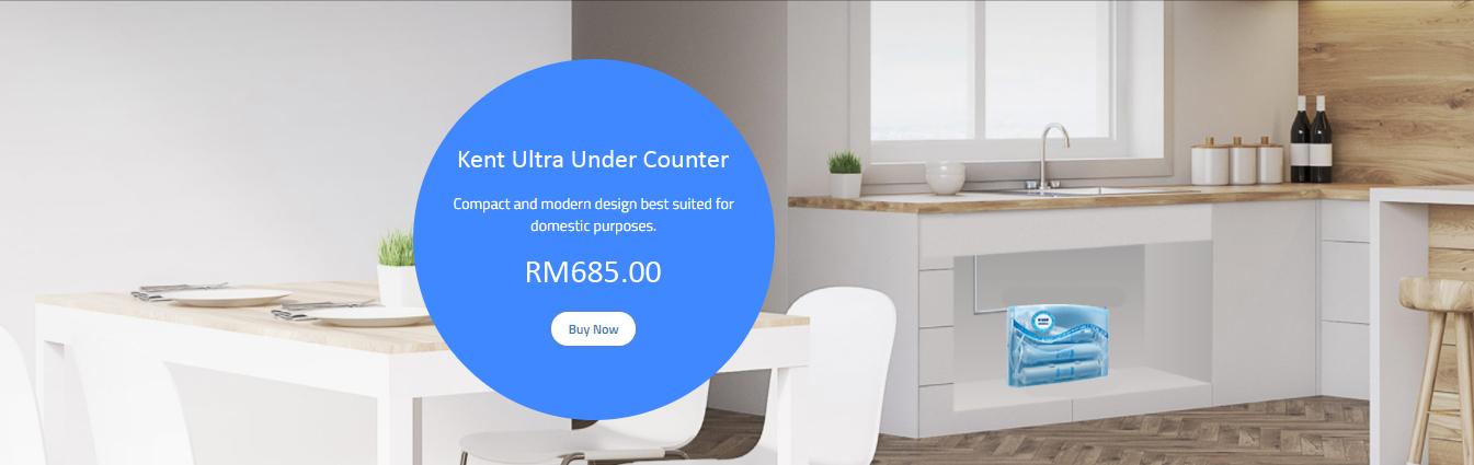 aqua kent ultra under counter uv water filter