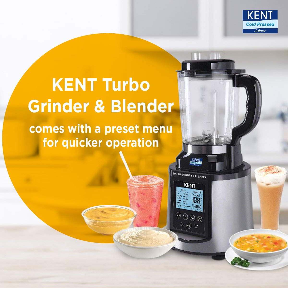 Aqua Kent Turbo Grinder and Blender